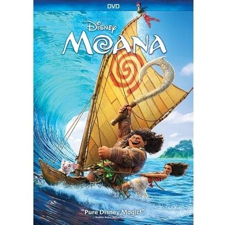 Disney Channel Halloween Movie Times (Moana (DVD))