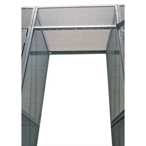 HALLOWELL 4803648PL Bulk Storage Locker Top, W 36 In, D 48 In