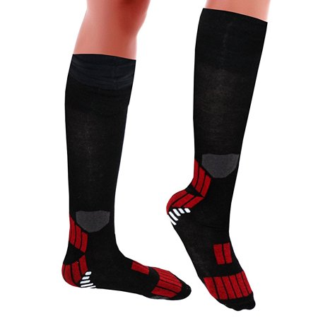 Unisex Knee-high Compression Stockings Socks Relieve Calf, Leg & Foot Pain - 12 (Pain In Heel Of Foot And Calf)