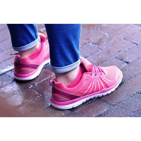 Felt Footwear (LAMINATED POSTER Footwear Shoes Feet Sport Shoes Women Shoes Poster Print 24 x)