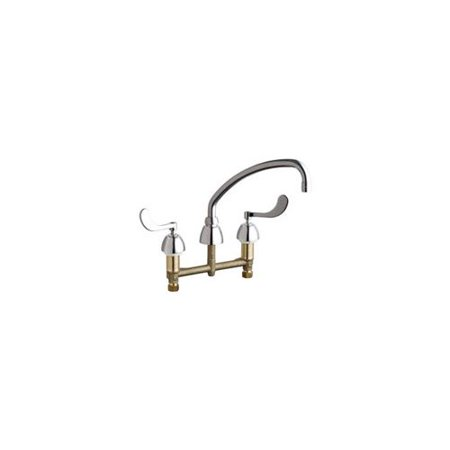 Chicago Faucets 201-AE35-317AB Commercial Grade Low Arch Kitchen ...