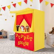 Alvantor Puppet Theater for Kids Tent Child Playhouse Puppet Show