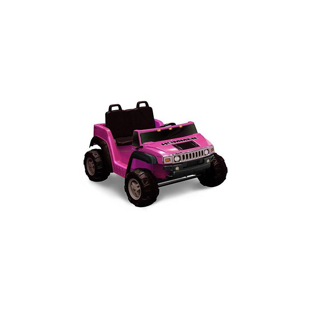 12v 2-seater Pink Ride-on Hummer H2 by Kid Motorz