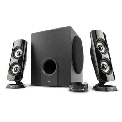 Cyber Acoustics CA-3614 52W Peak Power Speaker System with Control Pod