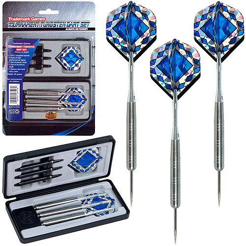 Trademark Games Tungsten Dart Set, 85% Tungsten, Pro Style Darts