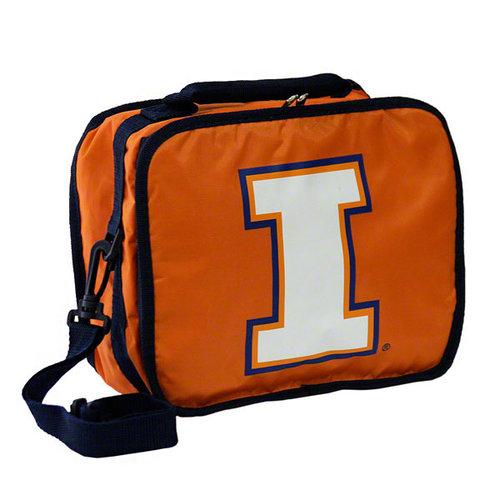 NCAA - Illinois Fighting Illini Orange Lunch Box