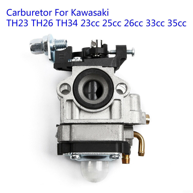 Beixi Time CARBURETOR AIR FILTER KIT FOR KAWASAKI TH23 TH26 TH34 KAAZ OLEO-MAC BV162 23CC 25CC 26CC TRIMMER 33CC 35CC BLOWER