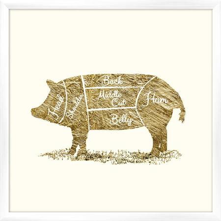 Pig Butcher Chart Wall Art 17375 X 17375 Walmart