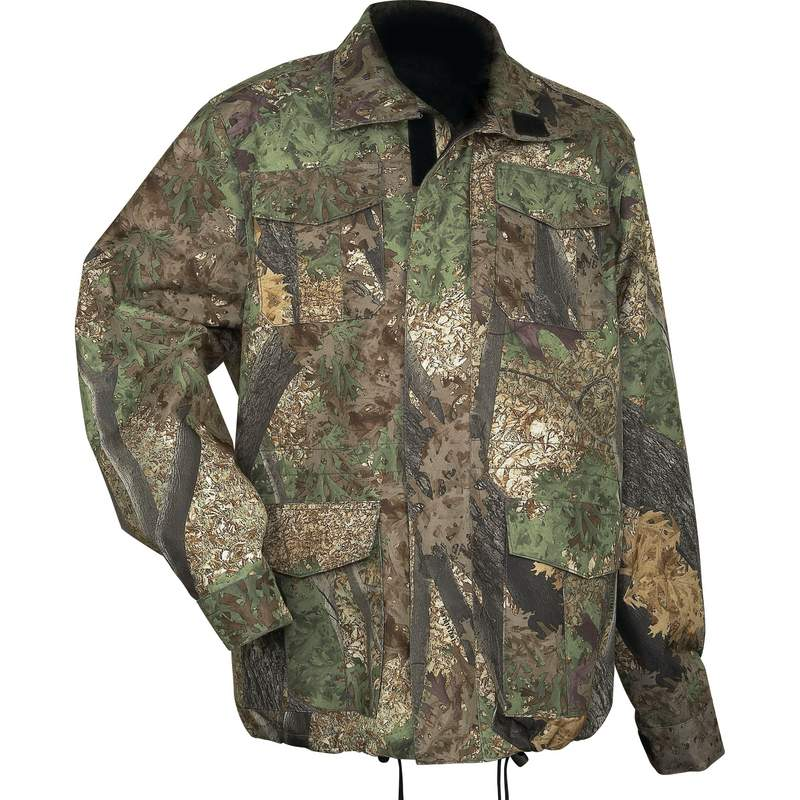 Casual Outfitters Water-ResistantCamo Jacket
