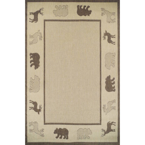 MS Forest Dwellers Lodge Indoor/Outdoor Rug