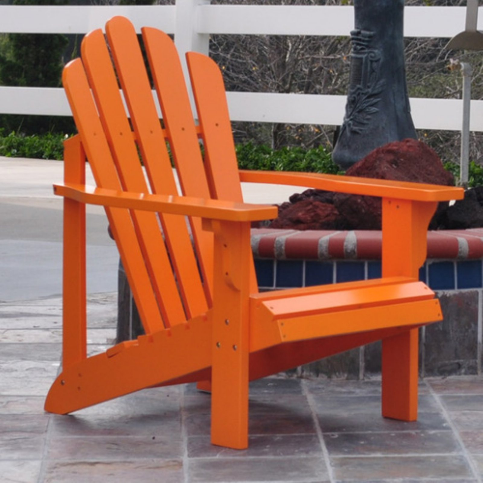 Rockport Adirondack Chair Tangerine by Shine Company