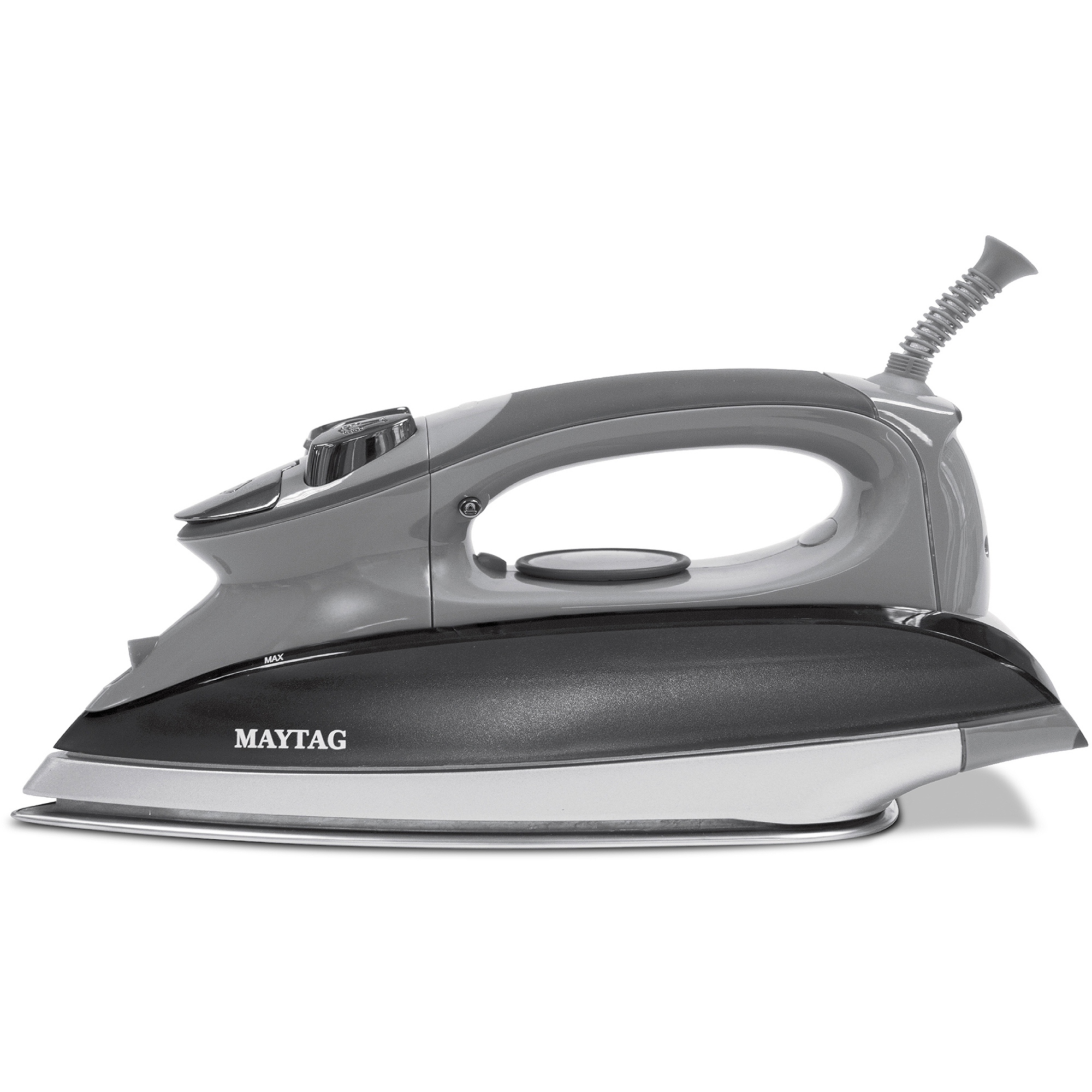Maytag Analog SmartFill Iron with Tangle-Free Cord, Gray