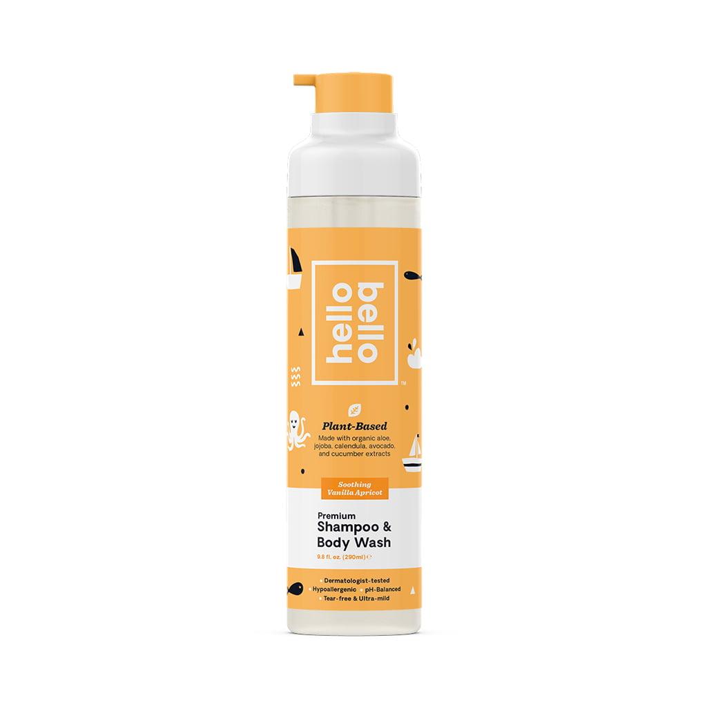 Hello Bello Shampoo/Wash - Vanilla Apricot 9 8oz