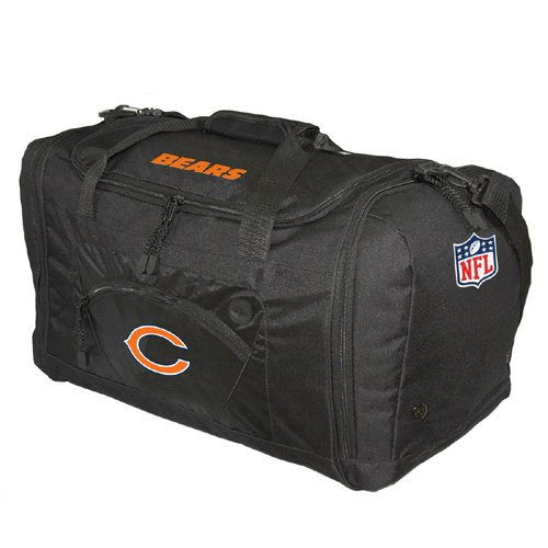 NFL Chicago Bears Roadblock Duffel, Black