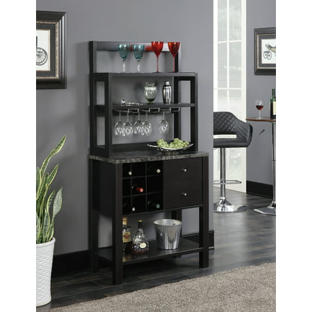 Convenience Concepts Newport Serving (Collection Bar Cabinet)