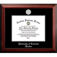 University of Colorado, Boulder 10w x 8h Silver Embossed Diploma Frame