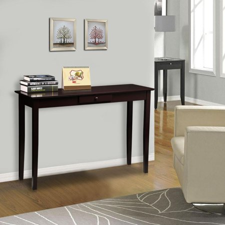 Curved End Console - Topeakmart Console Table Hallway Entryway Desk End Side Stand Living Room Hall with Drawer