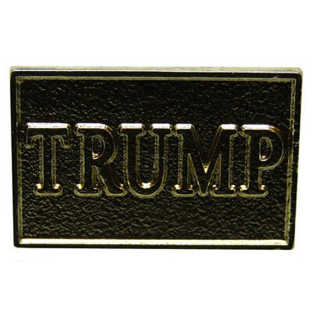 Novelty Hats Wholesale (Wholesale Pack of 6 Trump Gold Stamped Bike Hat Cap lapel)