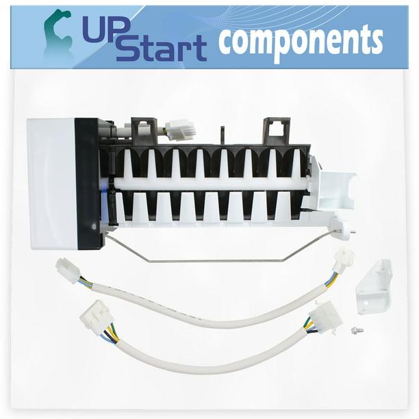Compatible Refrigerator Icemaker for Whirlpool GX5SHTXTB00 Maytag MSD2651HEB Jenn-Air JCD2389GES Maytag MSD2651HEQ Refrigerators