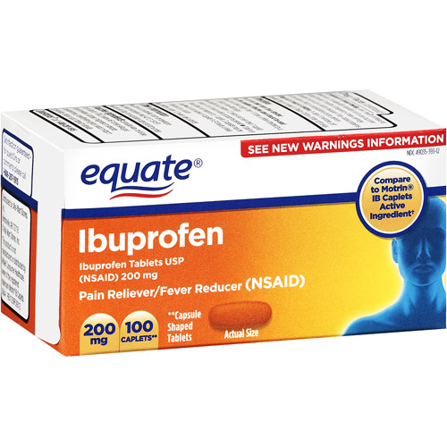 Equate Ibuprofen, 100ct