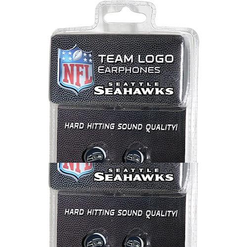 iHip NFL Mini Earbuds, Seattle Seahawks