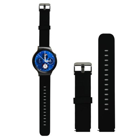 New Fashion Sport Silicone Watch Band Strap with Steel Buckle For Huawei Smart Watch BK