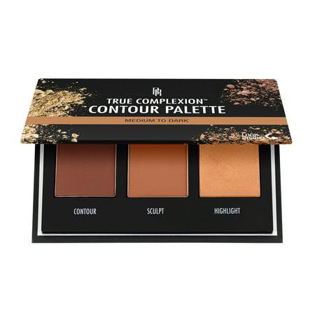 Black Radiance True Complexion Contour Palette, Medium to (Kiss Face Palette)
