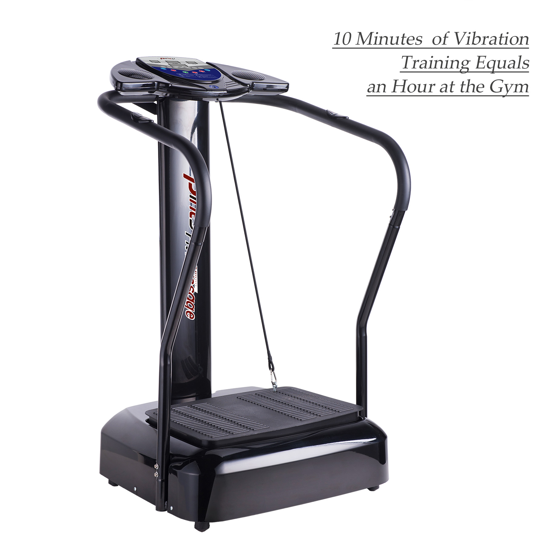 2000W Whole Body Vibration Platform Exercise Machine with MP3 Player (Black)