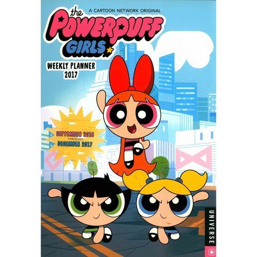 The Powerpuff Girls Weekly Planner 2017 Calendar