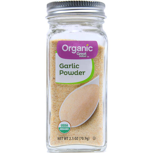 (3 Pack) Great Value Organic Garlic Powder, 2.5 oz