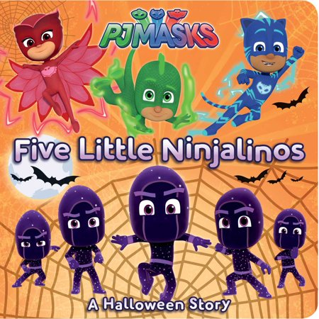 5 Little Ninjalinos A Halloween Story (Board (Children's Halloween Stories Printable)
