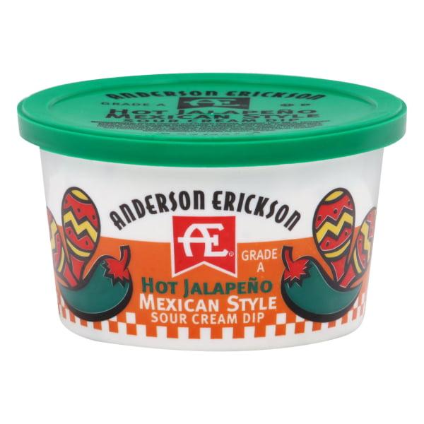 Anderson Erickson Hot Jalapeno Mexican Style Sour Cream Dip, 8 Oz.