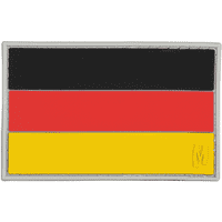 Maxpedition Germany Flag 3d PVC Rubber Badge National Velcro Morale Patch Colour