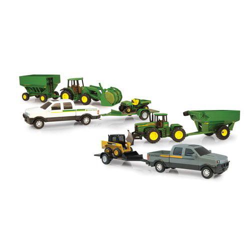ERTL John Deere Toys M2 JD Mega Hauling Set