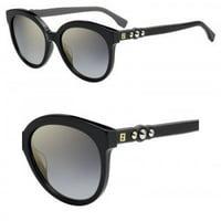 bfe68cff116 Product Image Fendi Sunglasses Ff 0268 S 0807 00 Black  FQ gray sf gold sp  lens