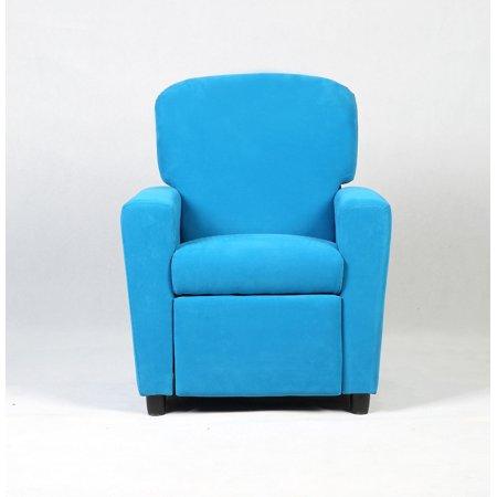 Cool Goplus Kids Recliner Sofa Armrest Chair Couch Lounge Children Living Room Furniture Blue Short Links Chair Design For Home Short Linksinfo