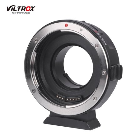 Viltrox EF-M1 Lens Adapter Ring Mount AF Auto Focus Aperture Control VR Stabilization for Canon EF/EF-S Lens to M4/3 Micro Four Thirds Camera for Panasonic GH5/4/3