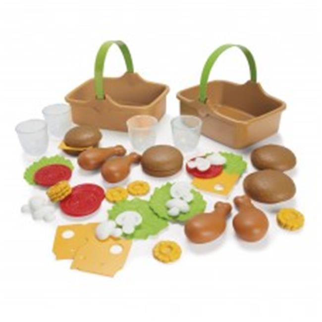 American Educational DT-7030 My Green Garden Baby Toy - 46 Piece