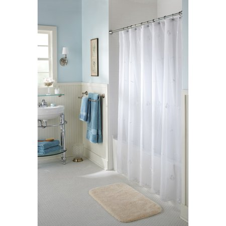 curtain curtains picture sheer shower new of walmart