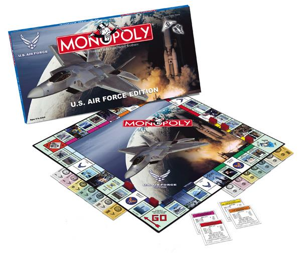 Monopoly U.S. Air Force Edition New by USAopoly