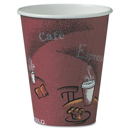 Hot Chick Solo (Solo Hot Paper Cups, 8 oz, 500)