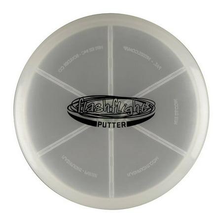 Nite Ize Flashlight LED Disc Golf Putter - Glow In The Dark Golf Course