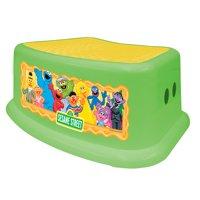 Ginsey 65085 Sesame Step Stool - Framed Friends (Green)