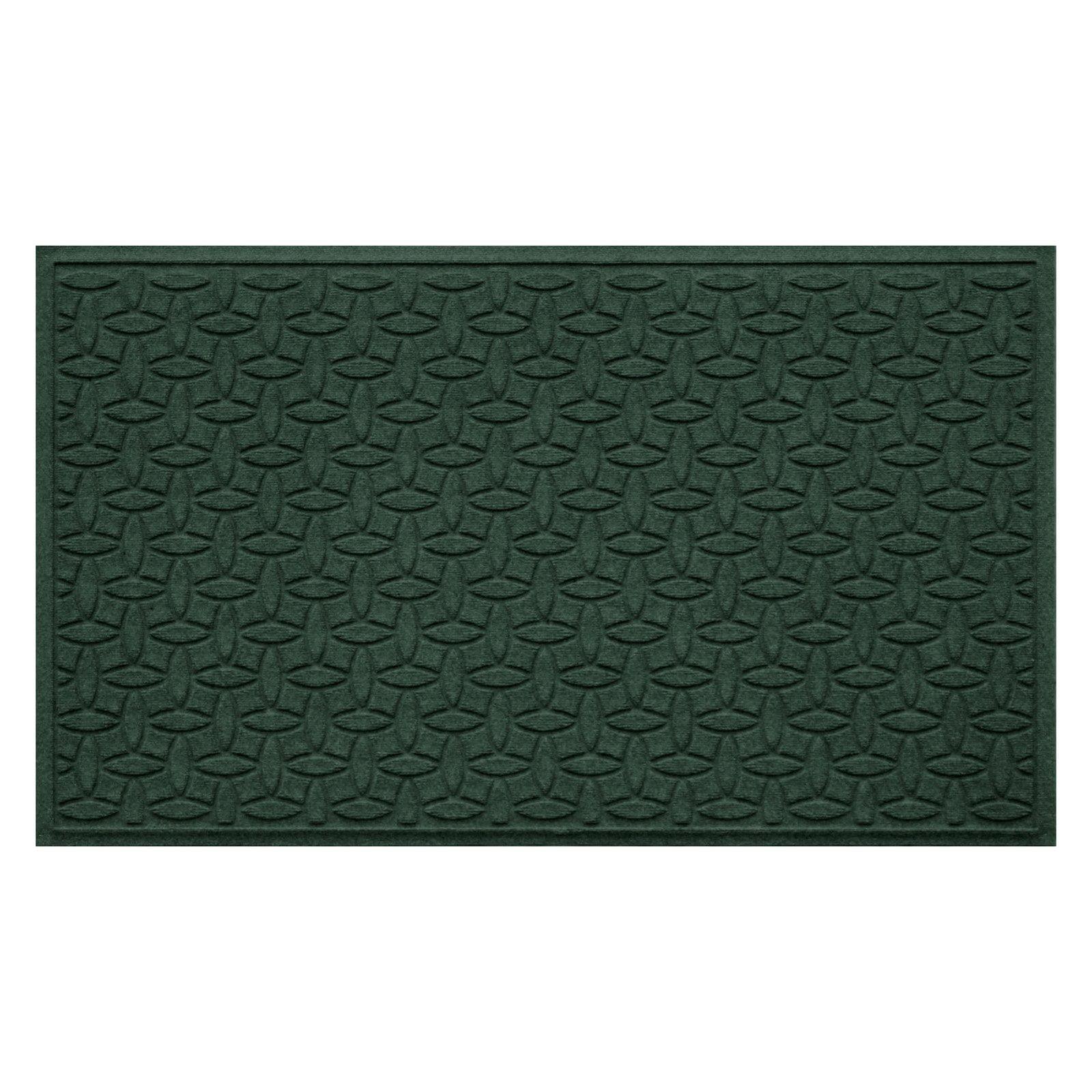 Bungalow Flooring Water Guard Elipse Indoor   Outdoor Doormat by