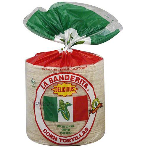 La Banberita Ole Mexican Corn Tortillas, 73.4 oz (Pack of 6)