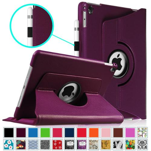 Fintie iPad Pro 9.7 2016 Multiple Angles Stand Case Cover with Auto Sleep / Wake Feature, Purple