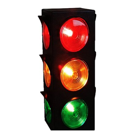 - Play Kreative Light Up Traffic Stop Lamp - For Traffic Decorations, Celebrations