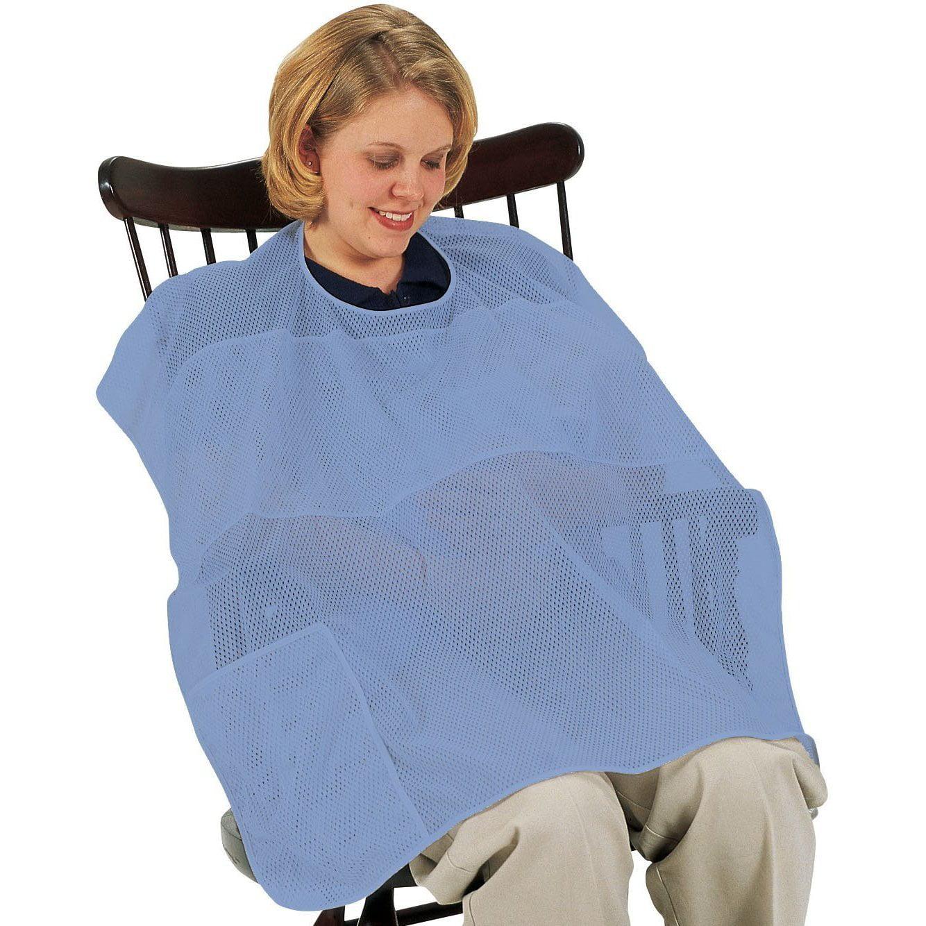 Leachco Cover n Cool Breastfeeding Cover - Periwinkle