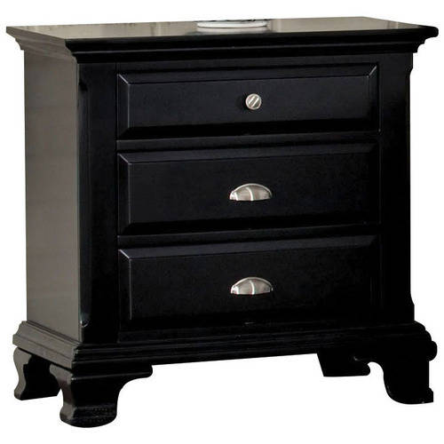 Canterbury Nightstand, Black