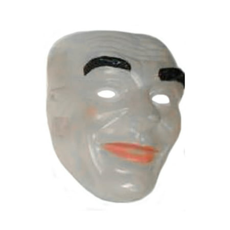Mask Transparent Clear Face Adult Costume Accessory Plastic Halloween - Halloween Cut Out Face Masks
